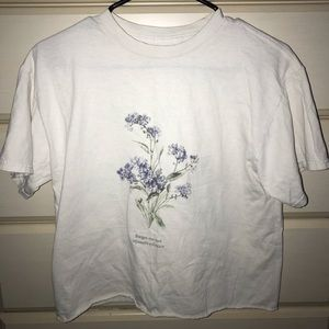 Brandy Melville Forget Me Not Shirt